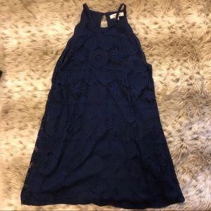 Francesca's High Neck lace dress